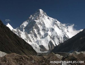 K2 (8611M) Second highest mountain on earth